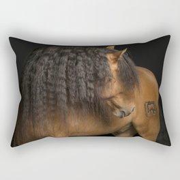 Horse Fine Art Rectangular Pillow