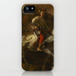The Polish Rider - Rembrandt van Rijn iPhone Case