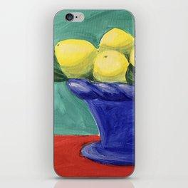 Sweet Summer Lemons iPhone Skin