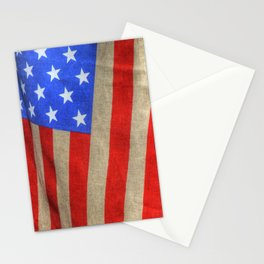 American Flag 019 Stationery Cards