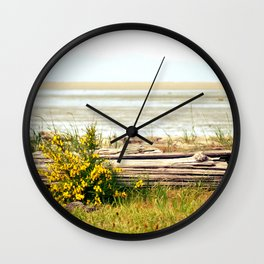 see the horizon break Wall Clock