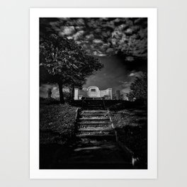 Tombstone Shadow No 9 Art Print
