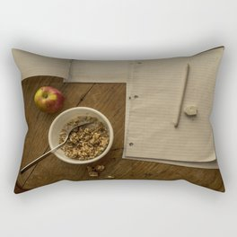 School Morning Rectangular Pillow