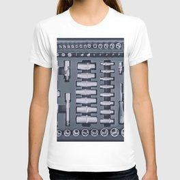 Industrial Socket Set inside Toolbox, Ratchet Socket Kit T-shirt