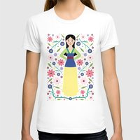 mulan T-shirts featuring Mulan by Carly Watts