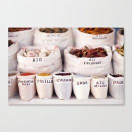 Peruvian Spices Canvas Print
