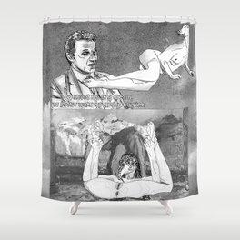 The constellation erotique 2701 Shower Curtain