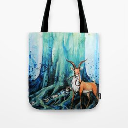 """At the tree's feet"" Tote Bag"