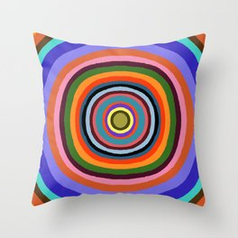 Technicolor dream 002 Throw Pillow