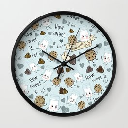 How Sweet it is Wall Clock