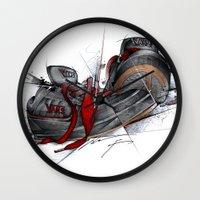 vans Wall Clocks featuring VANS by alexviveros.net