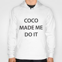 coco Hoodies featuring Coco  by RadFads
