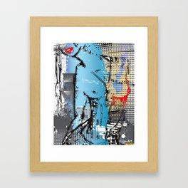 Erotic Woman Body Framed Art Print