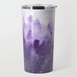 Ultra Violet Adventure Forest Travel Mug