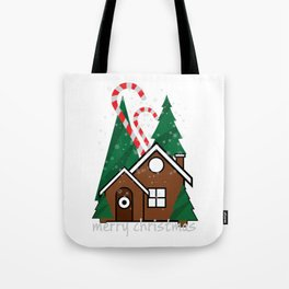 merry christmas vector illustration Tote Bag