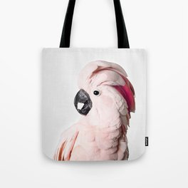 Pink Cockatoo Tote Bag