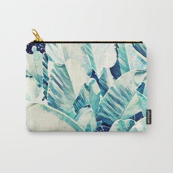 Banana Leaf Crush #society6 #decor #buyart Carry-All Pouch