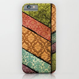 Vintage Material Chevron iPhone Case