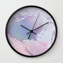 BETTER TOGETHER LAVENDER by Monika Strigel Wall Clock