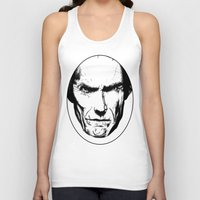 clint eastwood Tank Tops featuring Clint Eastwood by Zombie Rust