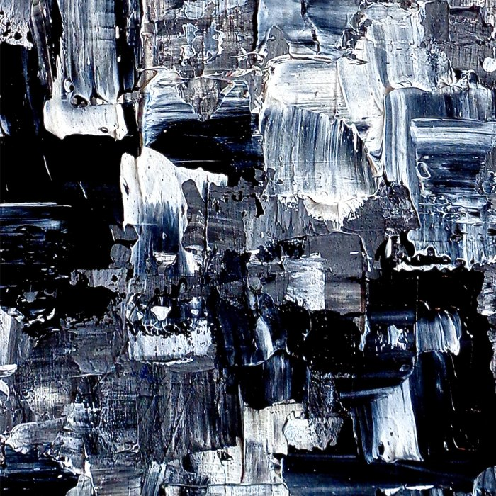 50 Shades... - black & white abstract painting Comforters
