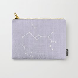 Sagittarius Zodiac Constellation - Lavender Carry-All Pouch