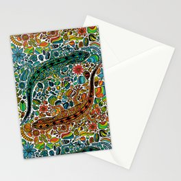 Find the geckos Stationery Cards