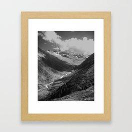 Winter in the Summer Framed Art Print