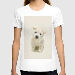 Jindo puppy re T-shirt