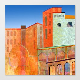 maghreb colors Canvas Print