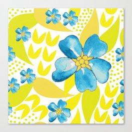 Summer Starlets Canvas Print