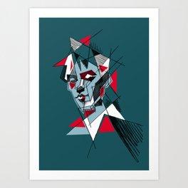 peter murphy 1 Art Print
