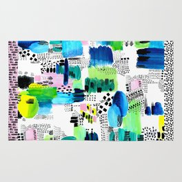 Playful Collage Rug