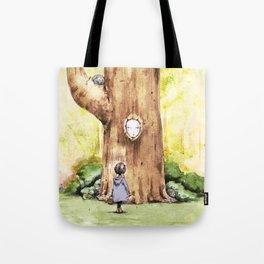 A Curious Quercus Tote Bag
