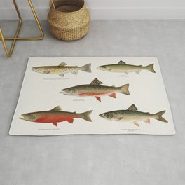 Salmon and Trout Rug