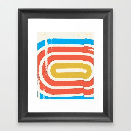 Center Field — Matthew Korbel-Bowers Framed Art Print