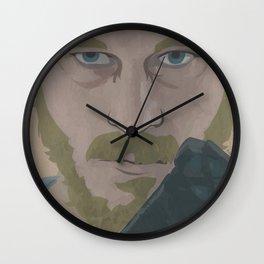 Ragnar Lothbrok from Vikings Wall Clock