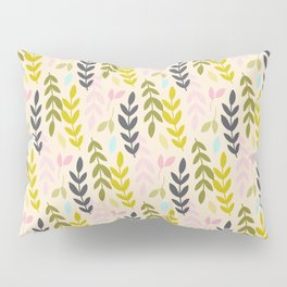 Leave playful pattern Pillow Sham