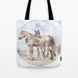 Companions - horse love Tote Bag