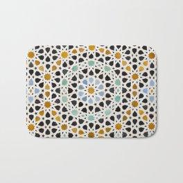 Mosaic Detail, Fes, Morocco Bath Mat