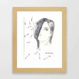 Digitized Framed Art Print