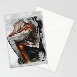 Surreal lovers Stationery Cards