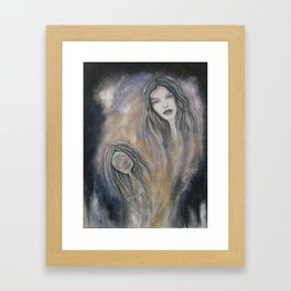 in-depth in soul  Framed Art Print