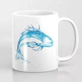 Fish in Water, Made from Water Coffee Mug
