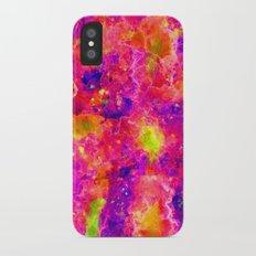 Watercolor Galaxy Slim Case iPhone X
