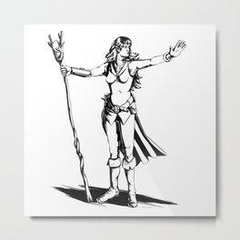 Wizard Metal Print