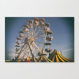 Wheel Ferris Canvas Print