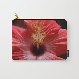 Pink Hibiscus 2 Carry-All Pouch