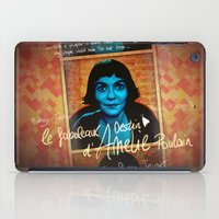 amelie iPad Cases featuring Amelie by Anna Siviero