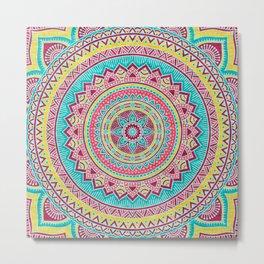 Hippie mandala 79 Metal Print